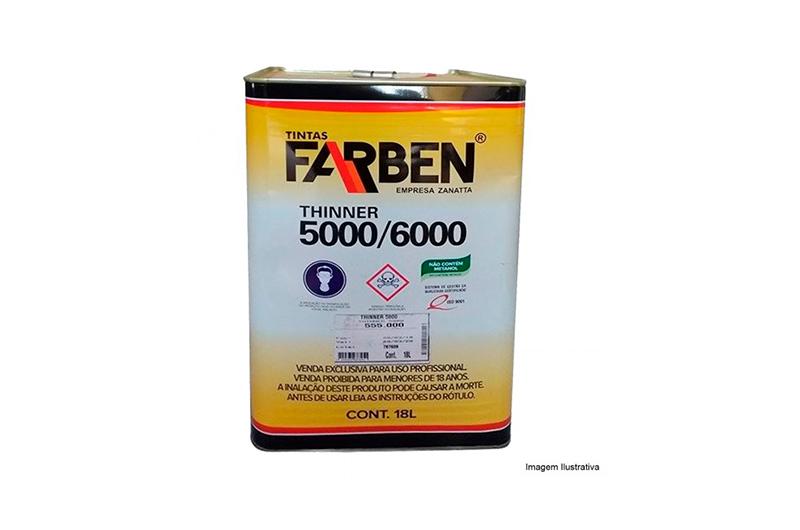 Thinner 5000 18L - Farben